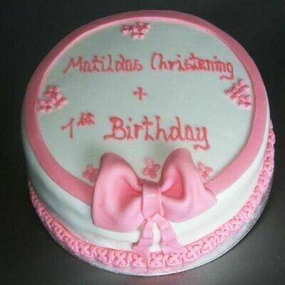 Matilda Christening Cake