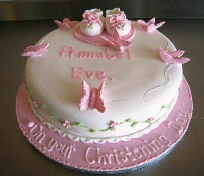 Annabel Christening Cake