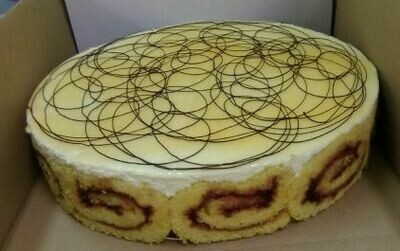Passion Fruit Gateau