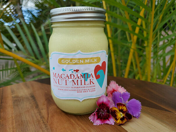 Macadamia Nutmilk Golden Milk