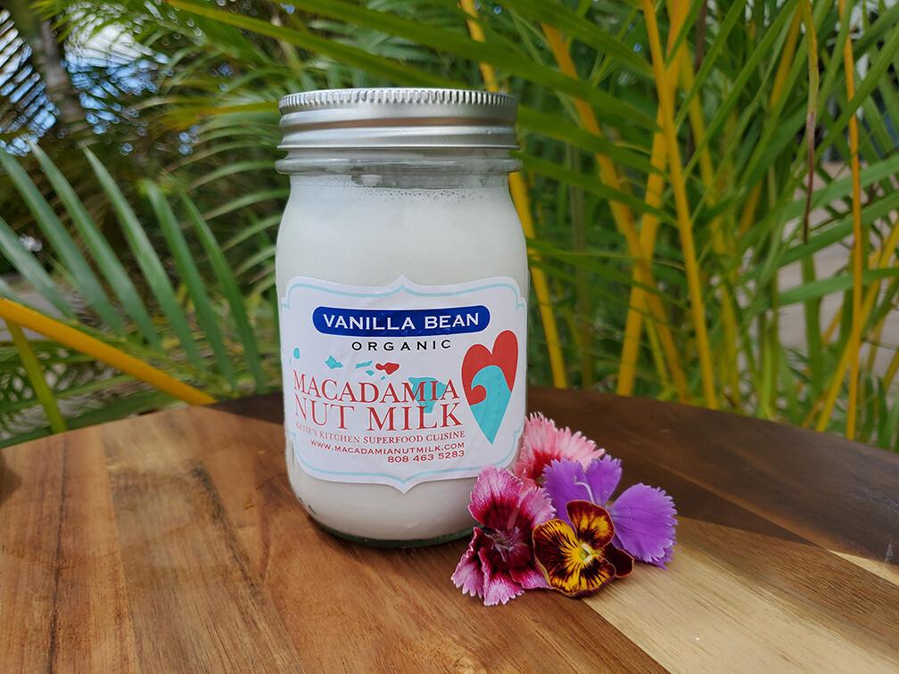 Macadamia Nutmilk Vanilla Bean