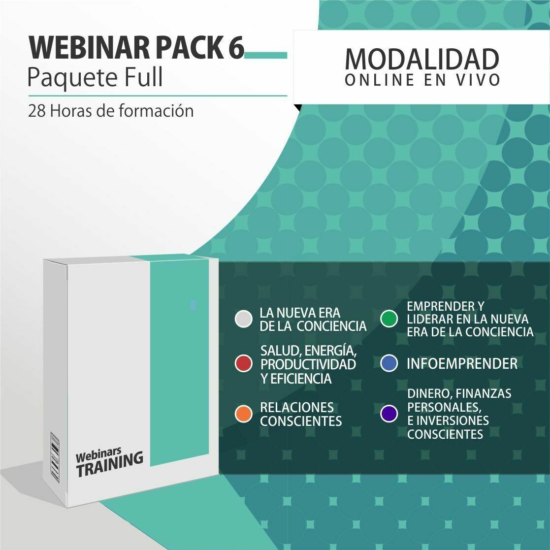 Pack Cursos Online 6:  PACK FULL (Todos los cursos)