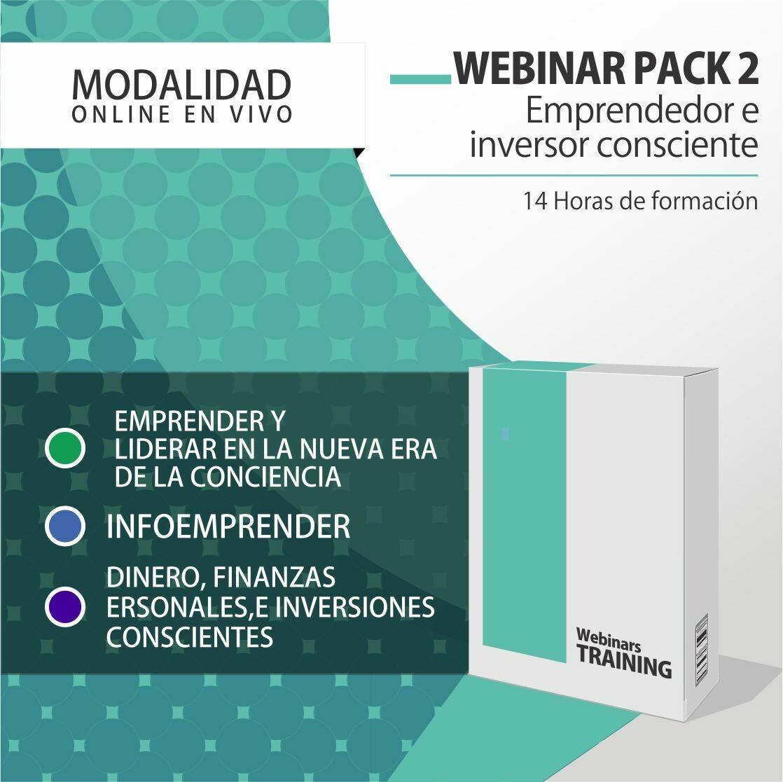 Pack Cursos Online 2:  PACK EMPRENDEDOR E INVERSOR CONSCIENTE