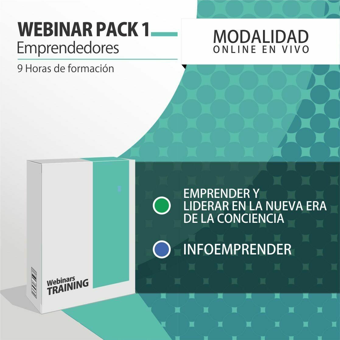 Pack Cursos Online 1:  PACK EMPRENDEDOR Y LÍDER CONSCIENTE