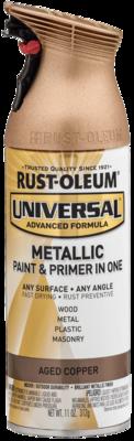 Rust-Oleum Metallic Spray Paint and Primer
