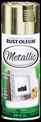 Rust-Oleum Specialty Metallic Spray Brass Paint
