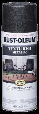 Rust-Oleum Textured Metallic Spray Paint