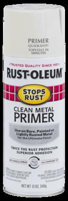 Rust-Oleum Spray Flat White Clean Metal Primer
