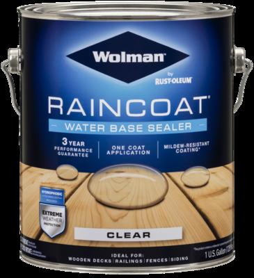 Wolman Raincoat Waterbase Sealer Clear