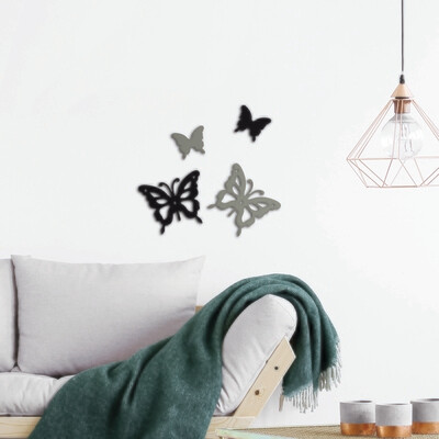 Mariposa Self Adhesive Removable Foam Sticker