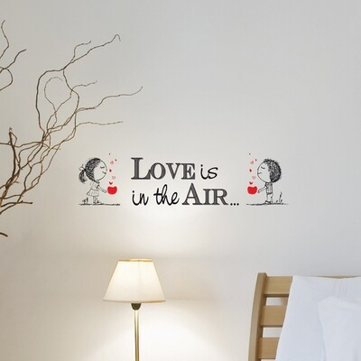 Love Is Self Adhesive Wall Quote
