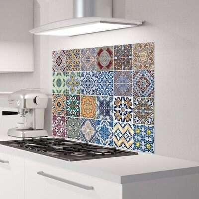 Azulejos Self Adhesive Kitchen Panels