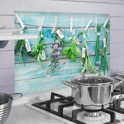 Herbes Self Adhesive Kitchen Panel