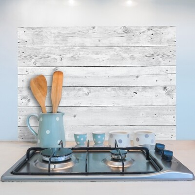 Grey Wood Self Adhesive Kitchen Panel