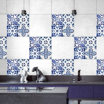 Azulejos Self Adhesive Tile Cover