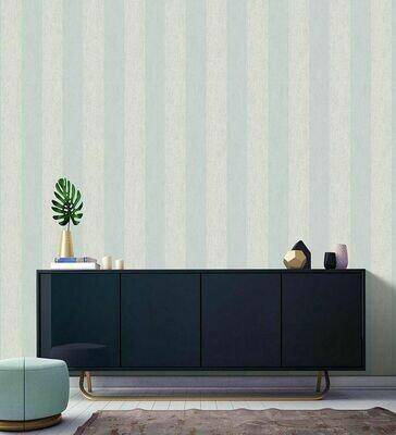 Mercury Stripe Duck Egg Wallpaper