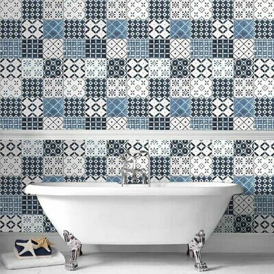 Porches Blue Wallpaper