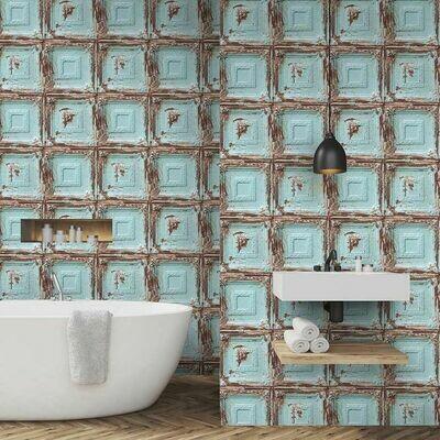 Mykonos Blue Wallpaper