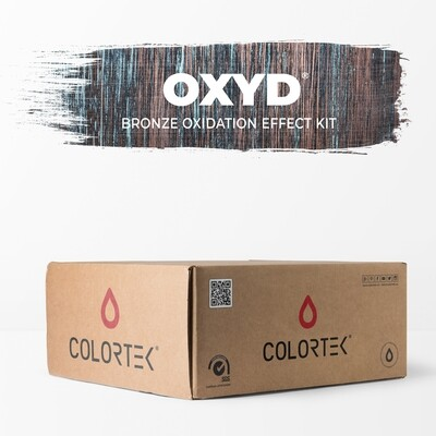 Oxyd - Bronze Oxidation Effect Kit for 5 sqm