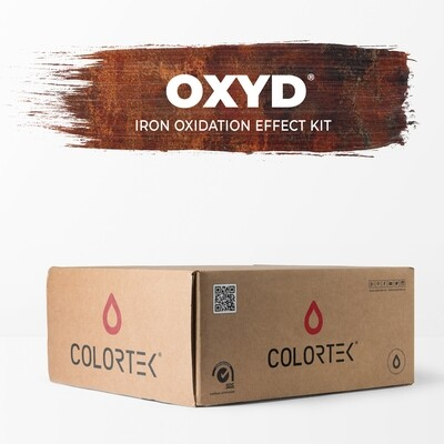 Oxyd - Iron Oxidation Effect Kit for 5 sqm