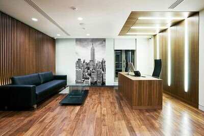 The Empire State Wall Mural