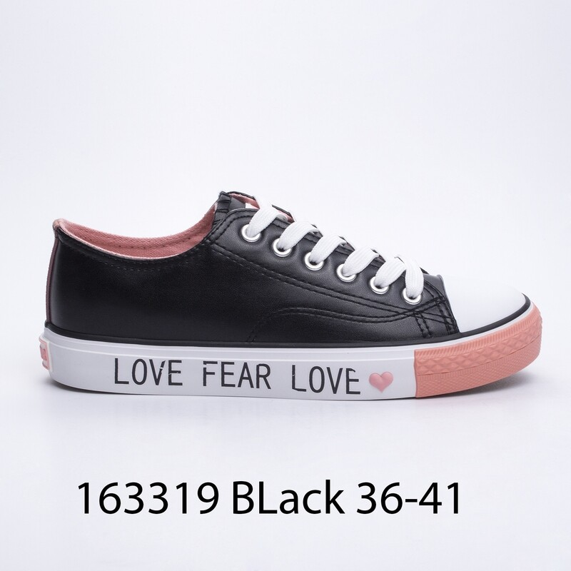 ПАТИКИ МОДЕЛ 3319 BLACK 36/41