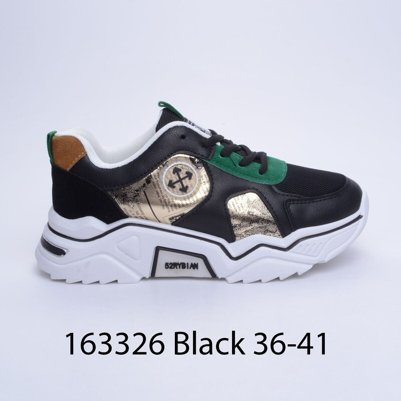 ПАТИКИ МОДЕЛ 163326 BLACK 36/41