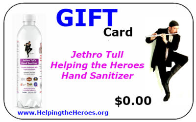 Jethro Tull Sanitizer Gift Card