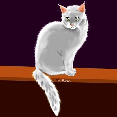Cartoon Portrait of Your Pet (digital file)