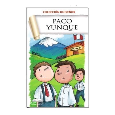 COLECCIÓN RUISEÑOR - PACO YUNQUE