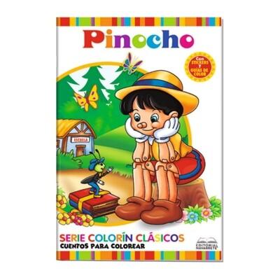 CUENTO COLORÍN A4 - PINOCHO