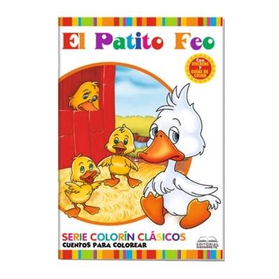 CUENTO COLORÍN A4 - EL PATITO FEO
