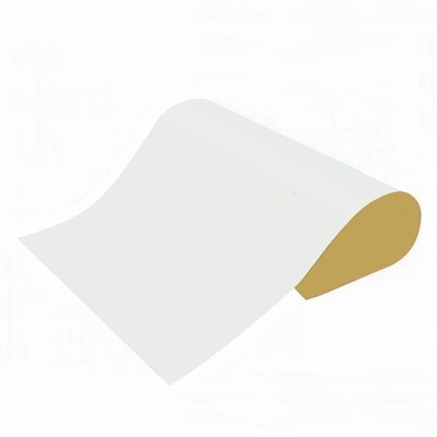 CARTULINA PLASTIFICADA 65X50 BLANCO X 1 PLIEGO