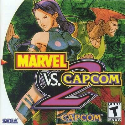 MARVEL VS. CAPCOM 2 (usagé)