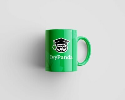 IvyPanda Branded Mug Green