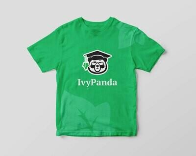 IvyPanda Branded T-shirt Green