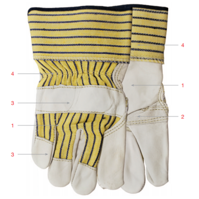 Glove, Fitter, A281BB, One Size