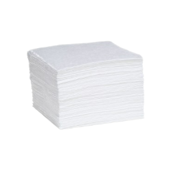 Absorbent Pads, Oil Only, Single Wt, 100/Bale