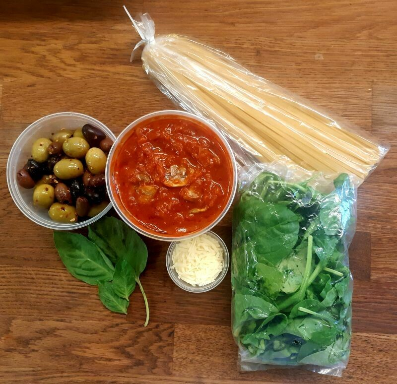Vegetarian Linguine Kit
