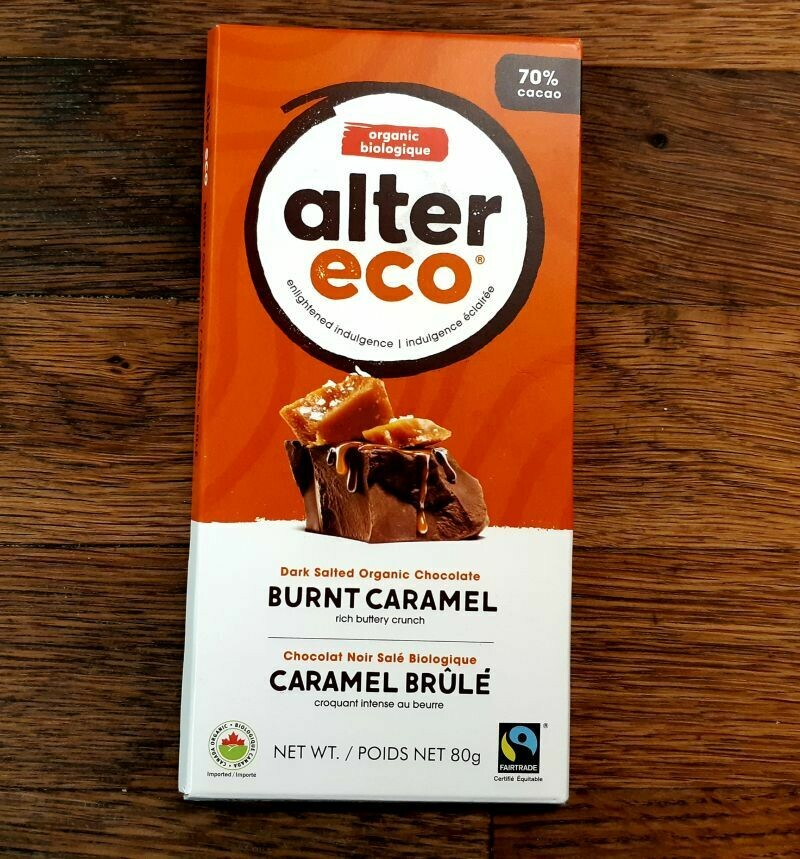 Alter Eco Dark Chocolate - Burnt Caramel