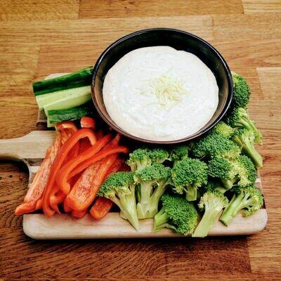 Parm Dip + Veggies (large)