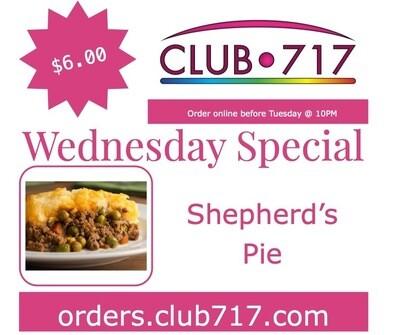 Wednesday - Shepherd's Pie