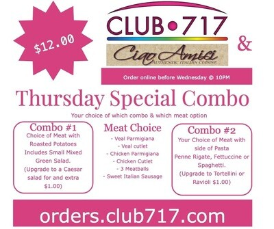 Thursday - Combo 2