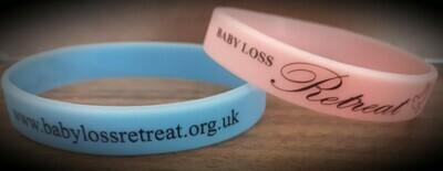 Baby Loss Retreat Wristbands