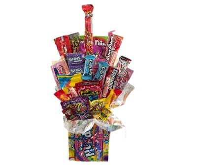 Small Movie Theater Candy Box Base Bouquet
