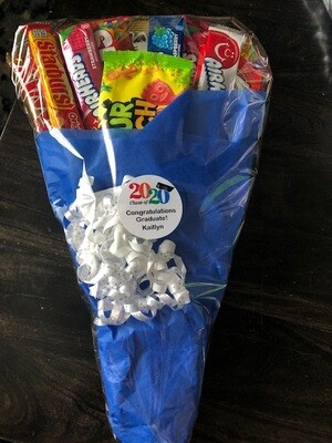 Tissue Paper Candy Bouquet - Large