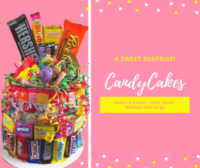 Candy Cake -Medium