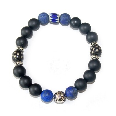 Grounded Midnight Bracelet