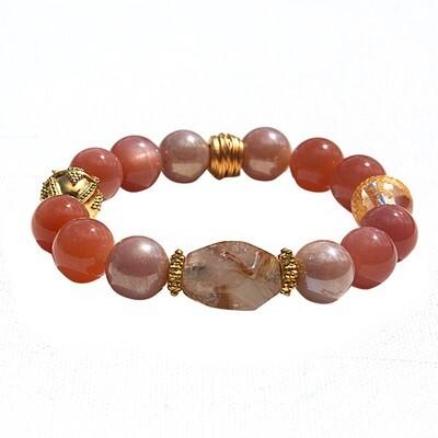 Golden Moon Bracelet