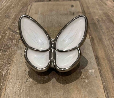 Mini urne in vlindervorm 7cm hoog inhoud 0,05l